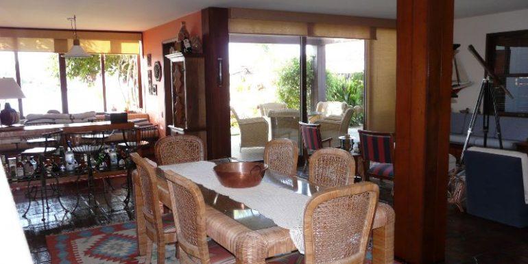 sala com varios ambientes